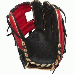 rade; web is typically used in middle infielder gloves Infield