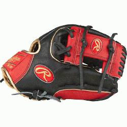 I™ web is typically used in middle infielder gloves Infield glove