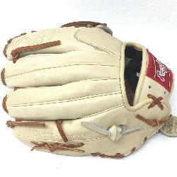 eart of the Hide Camel leather and brown laced. 11.5 inch Modified Trap Web a