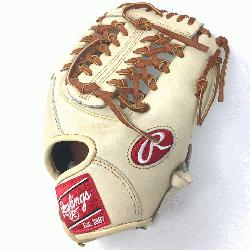 eart of the Hide Camel leather and brown laced. 11.5 inch Modified Trap Web and