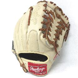 wlings Heart of the Hide Camel leather and brown laced. 11.5 inch Modified Trap Web and