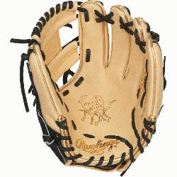 Hide baseball glove features a 31 pattern which means the hand openin