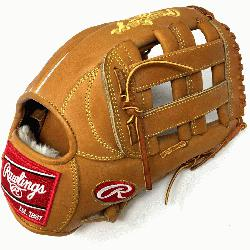 "This Heart of the Hide 12.75"" baseball glove features a the PRO H Web p"