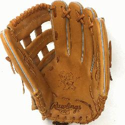 make of Heart of the Hide PRO303 Outfield Baseball Glove in Horween leather. Stiff and