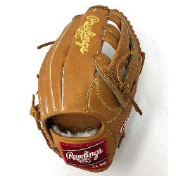 the Heart of the Hide PRO303 Outfield Baseball Glove in Horween leather. Stiff and no