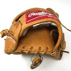 c make up of the Heart of the Hide PRO303 Outfield Baseball Glove in Horween leat