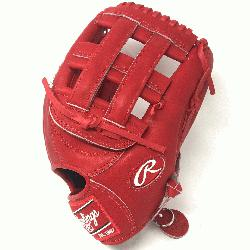 t of the Hide PRO303 Baseball Glove. 12.75 Inches, H Web, and open back. Red Heart of the Hide le