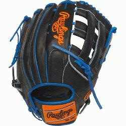 Pro H™ is an extremely versatile web for infielders and outfielders Outfield glove 60% play