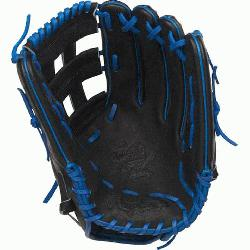 H™ is an extremely versatile web for infielders and outfielders Outfield glove 60% p