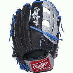 from Rawlings' world-renowned Heart of the Hide® steer hide leather, Heart
