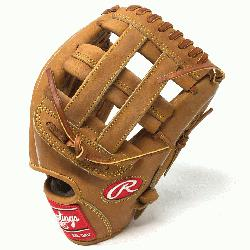 Rawlings' world-renowned Heart of the Hide® steer hide leather, Heart of the