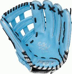 Heart of the Hide ColorSync outfield glove is constructed f