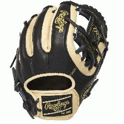 1. 25-inch Heart of the Hide infield glove provides balanced