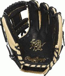 Heart of the Hide infield glove provides balanced
