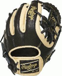 -inch Heart of the Hide infield glove provides balanced performance from pocket