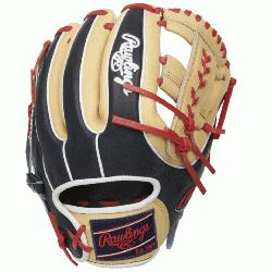 efensive great with the 2021 11.5-inch Heart of the Hide infield glove. Its meticulou