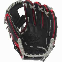 ™ web is typically used in middle infielder gloves Infield glove 60% player break-i