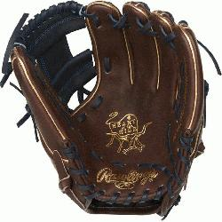 Hide baseball glove features a 31 pattern which means the hand opening has a mor