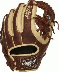 top glove craftsmen in the world, the Heart of the Hide 11.5 inch I-web glove i