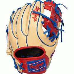his Heart of the Hide baseball glove features a 31 pattern which means the hand opening has