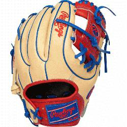 Heart of the Hide baseball glove features a 31 pattern which means the hand opening has a more