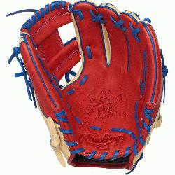 t of the Hide baseball glove features a 31 pattern which means the h