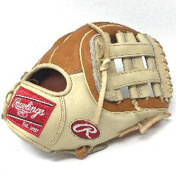 gs Heart of the Hide PRO314 11.5 inch. H Web. Camel and Tan leather. O