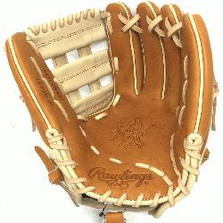 gs Heart of the Hide PRO314 11.5 inch. H Web. Camel and Tan lea