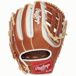 Heart of the Hide baseball glove features a 31 pattern which means the