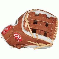 Heart of the Hide baseball glove features a 31 pattern which means the hand op
