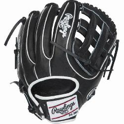 an extremely versatile web for infielders and outfielders Infield glove 60% player break-in
