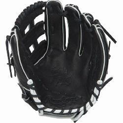 o H™ is an extremely versatile web for infielders and outfielders Infield glove 60%