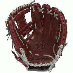 Rawlings world-renowned Heart of the Hide® steer hide leather, Heart of the Hide glo