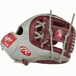 Rawlings world-renowned Heart of the Hide® steer hide leather, Heart of the Hide gloves fea