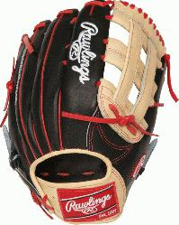 art of the Hide Bryce Harper Gameday pattern baseball glove. 13 inch Pro H Web and convention