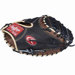 renowned ultra-premium steer-hide leather, this Heart of the Hide catchers mitt 33-inch