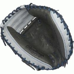 ted Edition Color Sync Heart of the Hide Catchers Mitt from Rawlings features the One Piece Clos