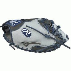 on Color Sync Heart of the Hide Catchers Mitt from Rawlings features the One