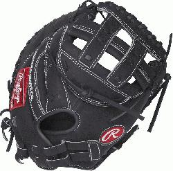 all-leather catchers glove Made from the top 5 percent of available steer hides
