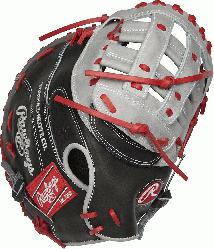 d from Rawlings world-renowned Heart of the Hide steer leather, Heart of the H