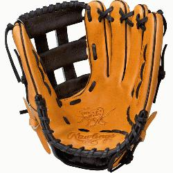 Hide is one of the most classic glove models in baseball. Rawlings Heart of the Hide Gloves feature
