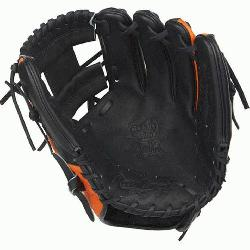 Pro I™ web is typically used in middle infielder gloves Infield glove 60% player