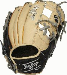om the top of the line, ultra-premium steer hide leather the Rawlings H