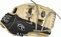 from the top of the line, ultra-premium steer hide leather the Rawlings Heart of the Hide
