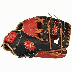 ed from Rawlings' world-renowned Heart of the Hide® steer hide leather, Heart of the