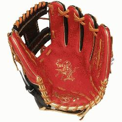 Rawlings' world-renowned Heart of the Hide® steer hide leather, Heart o