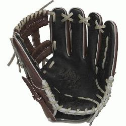 from Rawlings' world-renowned Heart of the Hide® steer hide leather, Heart of the Hid