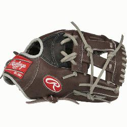 from Rawlings' world-renowned Heart of the Hide® steer hide leather, Heart of the Hi