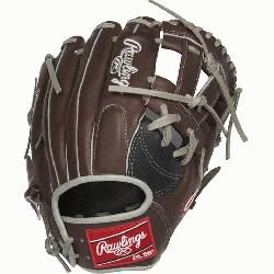 from Rawlings' world-renowned Heart of the Hide® steer hide leather, Hea