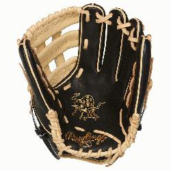 12.25 Inch Model Pro H Web Narrow Fit Pattern Ideal For Smaller Hands Heart of the Hide